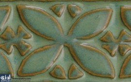 Pottery High Fire Glaze PC-25 Textured Turquoise images