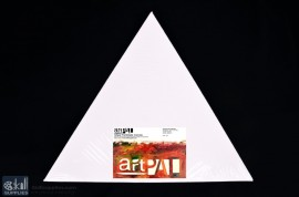 """Stretched Canvas Triangle 12"""""""