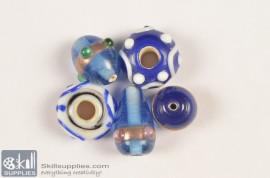 Super fancy glass beads 30