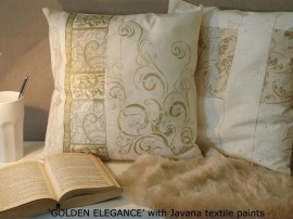Textilepen Lilac Metallic