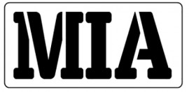 Words Stencil - MIA