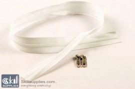 Zipper White 2 ft Small