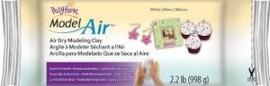 Air dry Clay-White