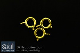 Clasp round 10mm FS3 ,20 pcs  gold