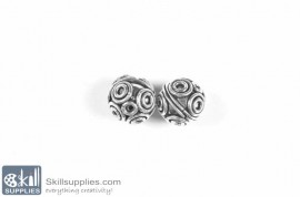 German Silver Bead 38