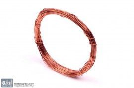 Jewellery Wire Copper ,Gauge No.22 images