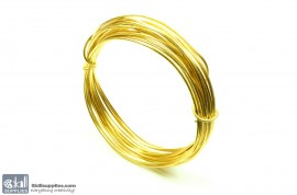 Jewellery Wire Gold ,Gauge No.16 images