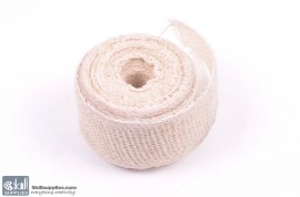 Jute ribbon 10 m White images