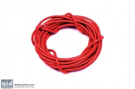 Leather Cord Red 2