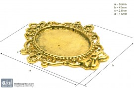 Pendant Tray20 Gold images