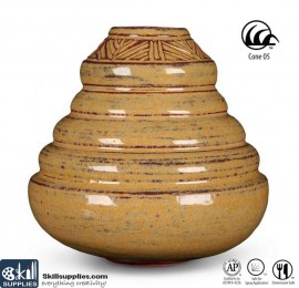 Pottery Low Fire Glaze A-62 Camel images