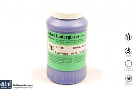 Pottery Underglaze V-336 Royal Blue images