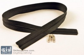 Zipper Black 2 ft Small images