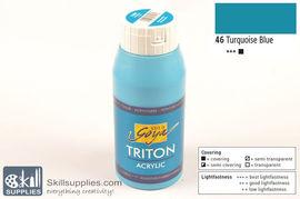AcrylicPaint TurquoiseBlue