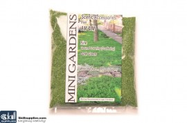 Artificial Ground Cover Grass Dark Green Fine 250g images