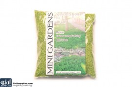 Artificial Ground Cover Grass Light Green Medium 250g images