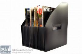 Expanding Magazine Holder