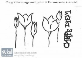 GlassOutlining Pen black