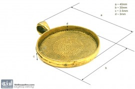 Pendant Tray25 Gold images