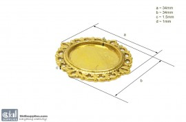 Pendant Tray34 Gold images