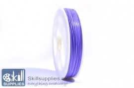Tiger tail 0.45mm light purple,5 mts images