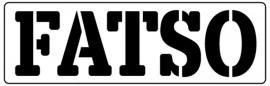 Words Stencil - Fatso