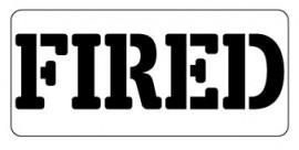 Words Stencil - Fired