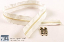 Zipper White 2 ft Large images