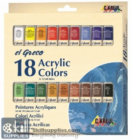 EG AcrylicColor Set18 images