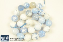 Faceted Blue Lace Agate