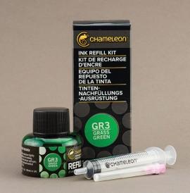 Ink Refill 25ml GrassGreen,GR3