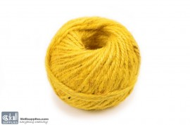 Jute Cord 50 m Yellow images