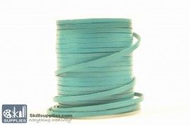 LeatherCord Blue Flat images