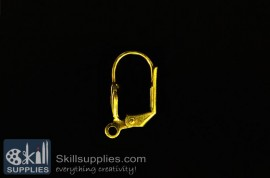 Lever back loop  ER10 ,10 pcs  gold images