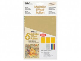 Metallic Effectfoil set 6pc Classic images