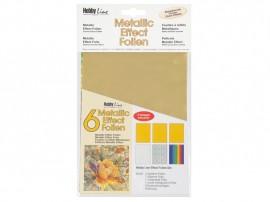 Metallic Effectfoil set 6pc Classic