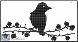 Nature Stencil Bird BI011 images