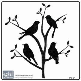 Nature Stencil Bird BI029 images