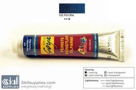 OilColour ParisBlue