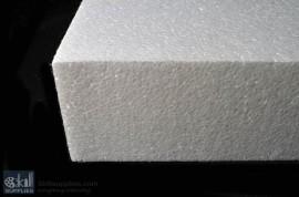 Polystyrene block 100 mm,8kg density