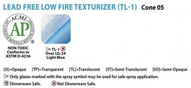 Pottery Low Fire Texturizer