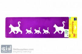 SelfAdhesive Stencil 5b images