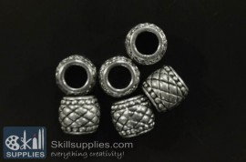 Spacers Antique Silver 4 images