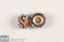 Super fancy glass beads 3 images