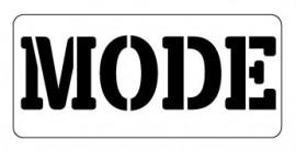 Words Stencil - Mode