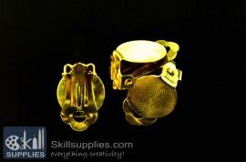 Ear clip  ER22 ,4 pcs  gold