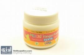 Fingerpaint TEXTIL White