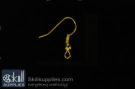 Fish hook ER12, 48 pcs   gold