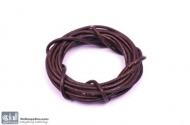 LeatherCord DarkBrown2 images
