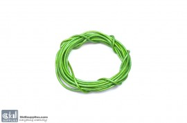 LeatherCord MayGreen Metallic images